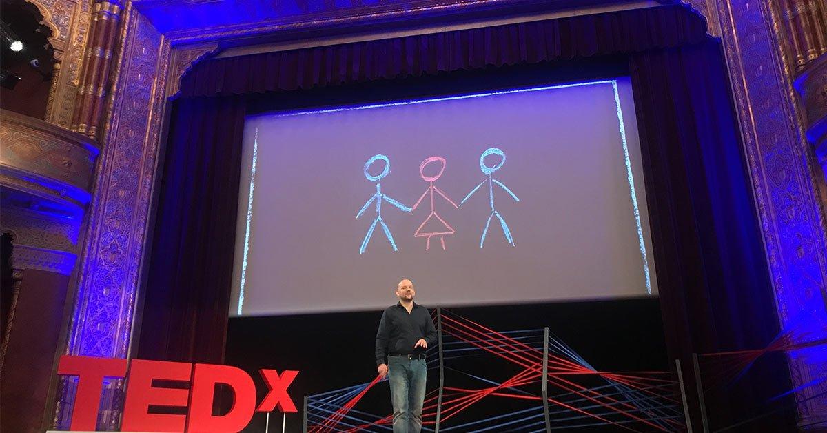 Ágoston László TEDx poliamoria